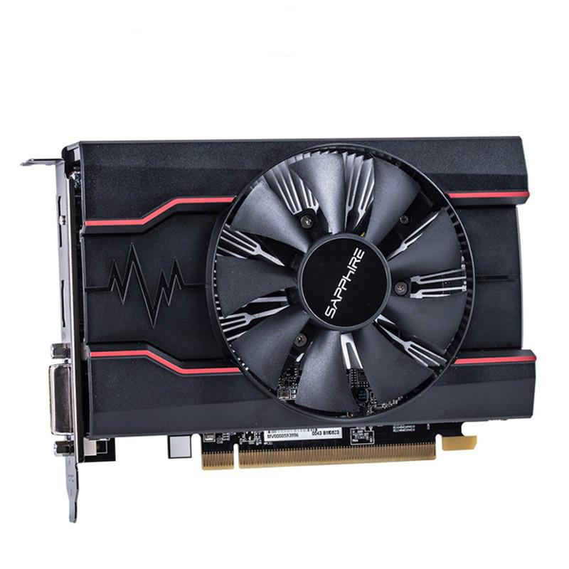 RX550 4GB Graphics Cards GPU Original AMD Radeon RX 550 4GB GDDR5 Video Cards Desktop PC Computer Game Map PCI-E X16