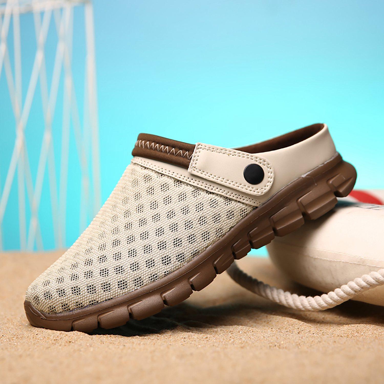 ABDB-verano sandalias de los hombres de malla transpirable masculino sandalia de la playa del verano de los hombres zapatos de agua Hombre zapatillas de moda Diapositivas Calzado casual
