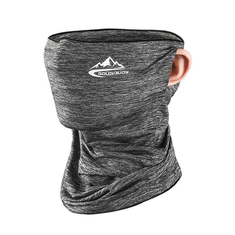 Ice Шелковый Солнцезащитный маска Полотенце лето мужской Велоспорт Маски Многофункциональный Открытый Спорт Dust Proof ветрозащитный платок IIA121