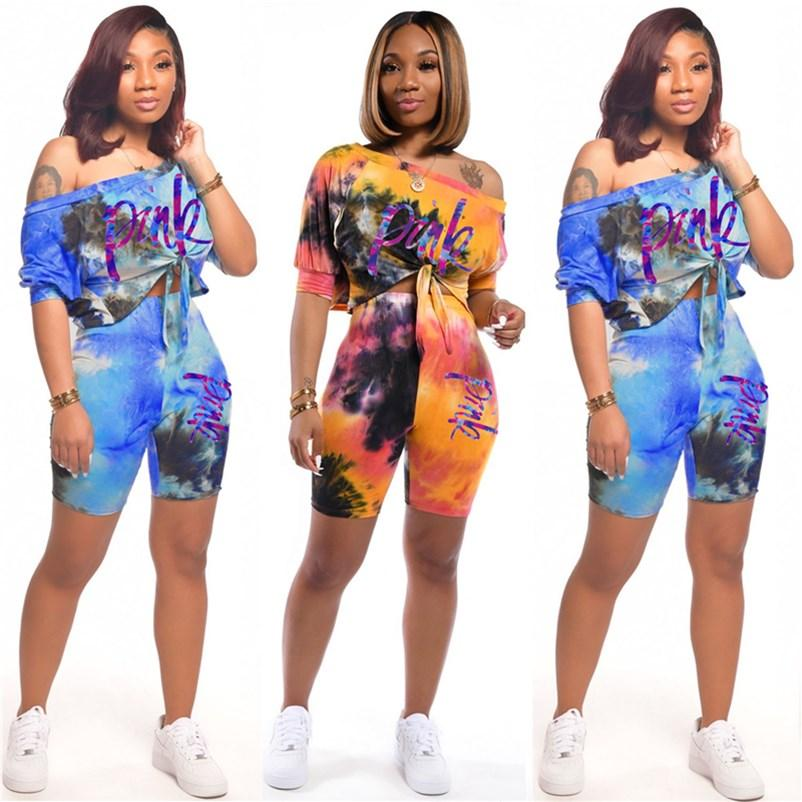 Womens clothing tracksuit short sleeve shorts outfits 2 piece set jogging sport suit sweatshirt summer tights sport suit klw3481