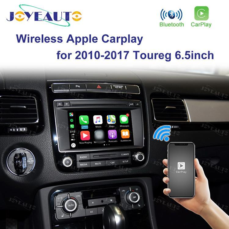 Joyeauto Apple Wireless Carplay Android Auto per Volkswagen Touareg 2010-2017 adattatore di controllo touch screen da 6,5 pollici automobile del gioco