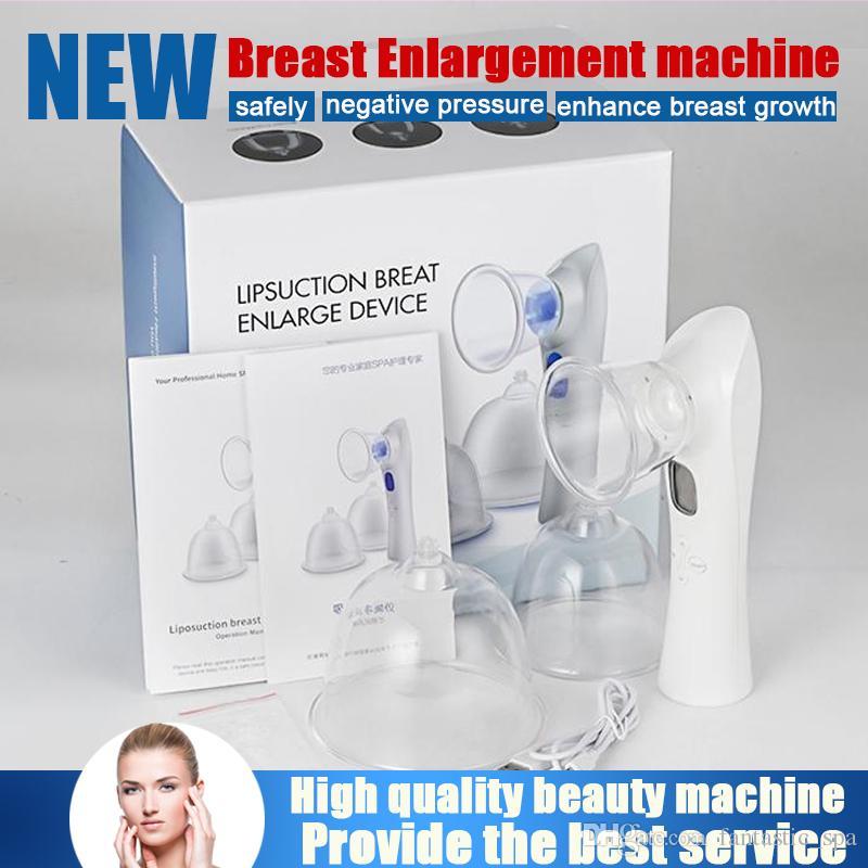 최고의 효과 휴대용 진동 마사지 리프팅 유방 확대 펌프 마사지 진공 치료 컵 바스트 향상제 미용 기계