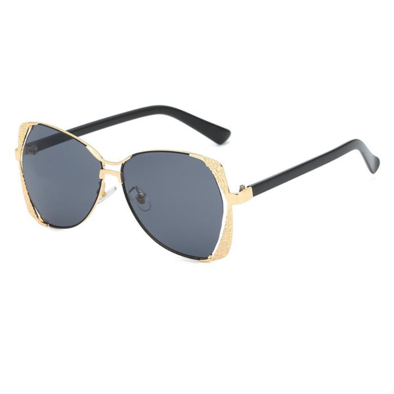 struttura in metallo unico per gli occhiali da sole di protezione UV pratici grandi occhiali da sole impediscono dannosi raggi UVA / UVB # 290644