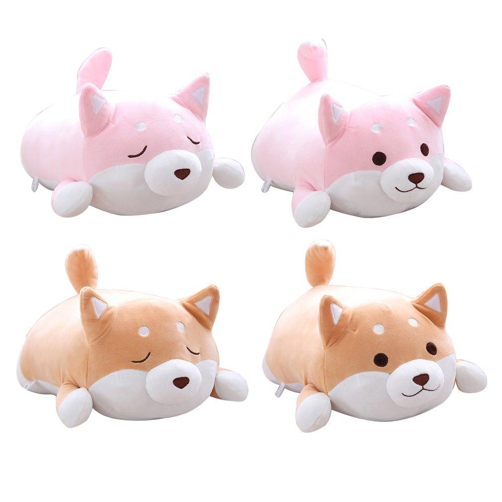 40cm Cute Fat Shiba Inu Dog Plush Toy Stuffed Soft Kawaii Animal Cartoon Pillow Lovely Gift for Kids Baby Children Good Quality