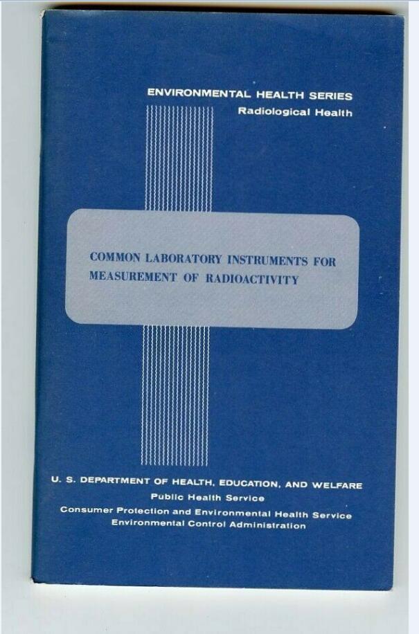 Environmental Health-Comune strumenti Misura Radioattività / 1967