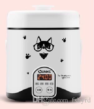 Inteligente Reserva arroz Mini fogão elétrico 220V 1.2L Elétrica Multifuncional Fogão para trabalho doméstico Dormitório 015