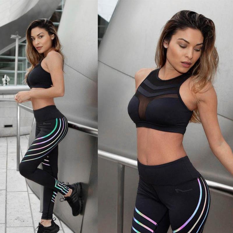 Camisetas de entrenamiento sujetador de los deportes de la yoga de la aptitud de las mujeres del chaleco sin respaldo sólido seco del funcionamiento rápido Gimnasio Sport sujetador de la yoga camisetas sin mangas Y079