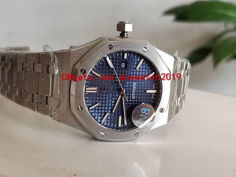 2 colores Reloj de pulsera de lujo de alta calidad N8 factory 26320ST.OO.1220ST.01 41mm Dial negro Acero VK Cuarzo Cronógrafo Reloj para hombre de trabajo