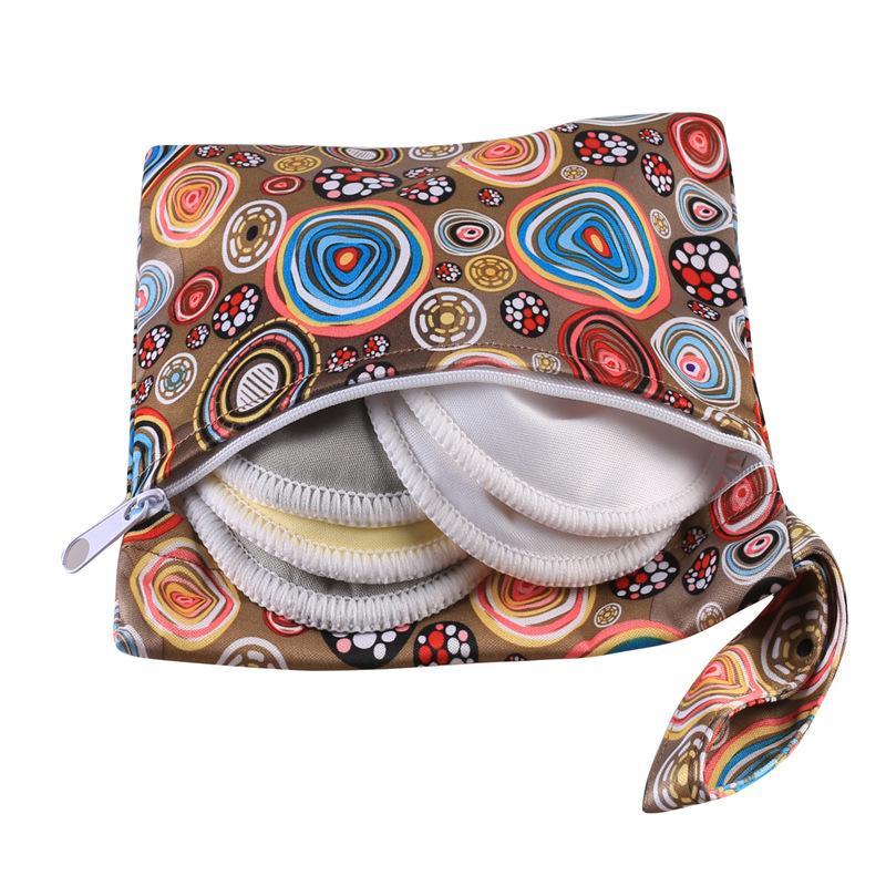 OEM réutilisable Sac lavable humide pour Tapis menstruelles Mama Tissu Serviette sanitaire Tapis Sac humide pour Diapers