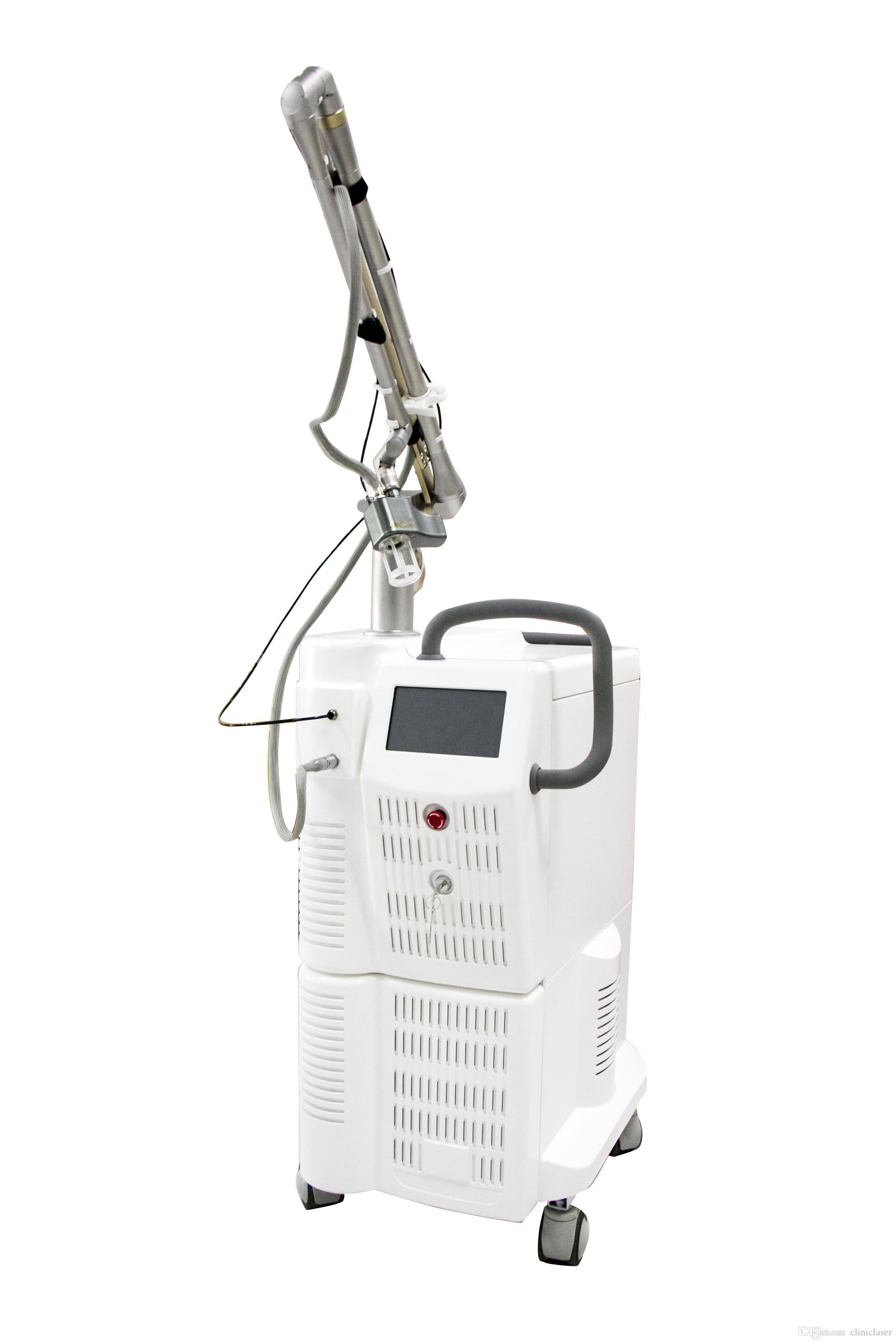 10600NM 60W RF 이산화탄소 분수 레이저 질 강화 기계, 피부 resurfacing 및 vaginal 강화 beauyu 장비
