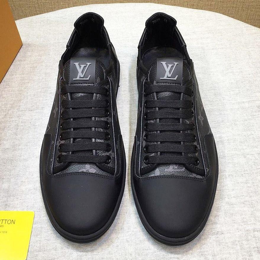 2019 nuevos zapatos casuales de los nuevos hombres franceses zapatos deportivos al aire libre respirables, zapatos planos de encaje de moda caja original embalaje qy