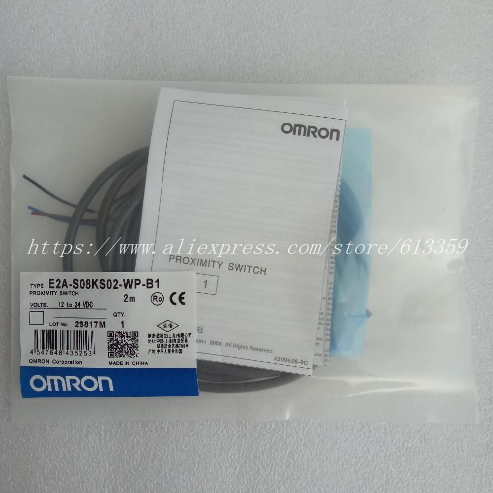 ONE NEW Omron E2A-S08KS02-M5-C1 Proximity Switch