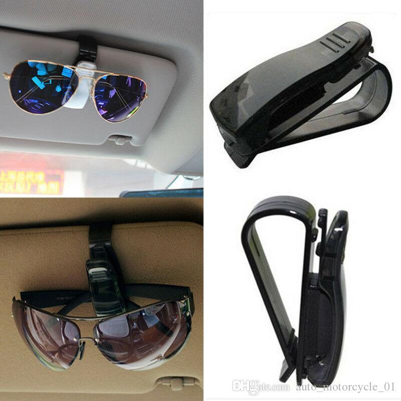 4 ألوان النظارات الشمسية كليب تذاكر حامل سيارة بطاقة زجاج السيارات استلام الشمس قناع جبل نظارات كليب هوك CCA11384 200PCS