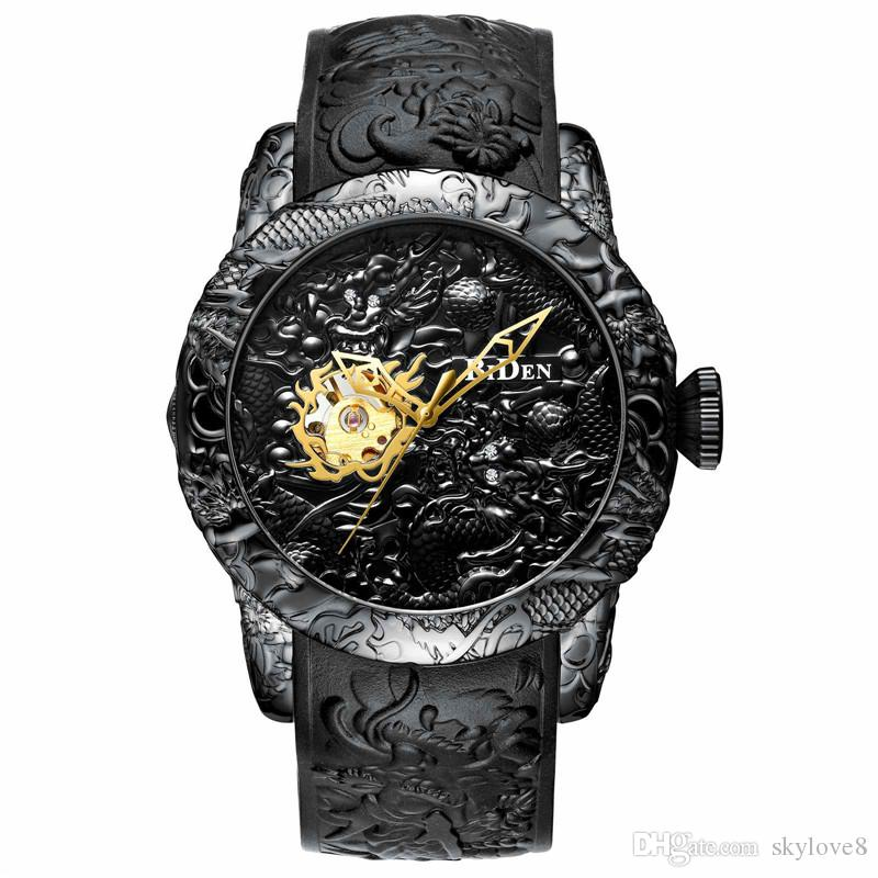 mens montres de luxe BIDEN grande marque montre mécanique automatique de haute précision ponctuelle 30M imperméable à l'eau de qualité supérieure montre d'affaires