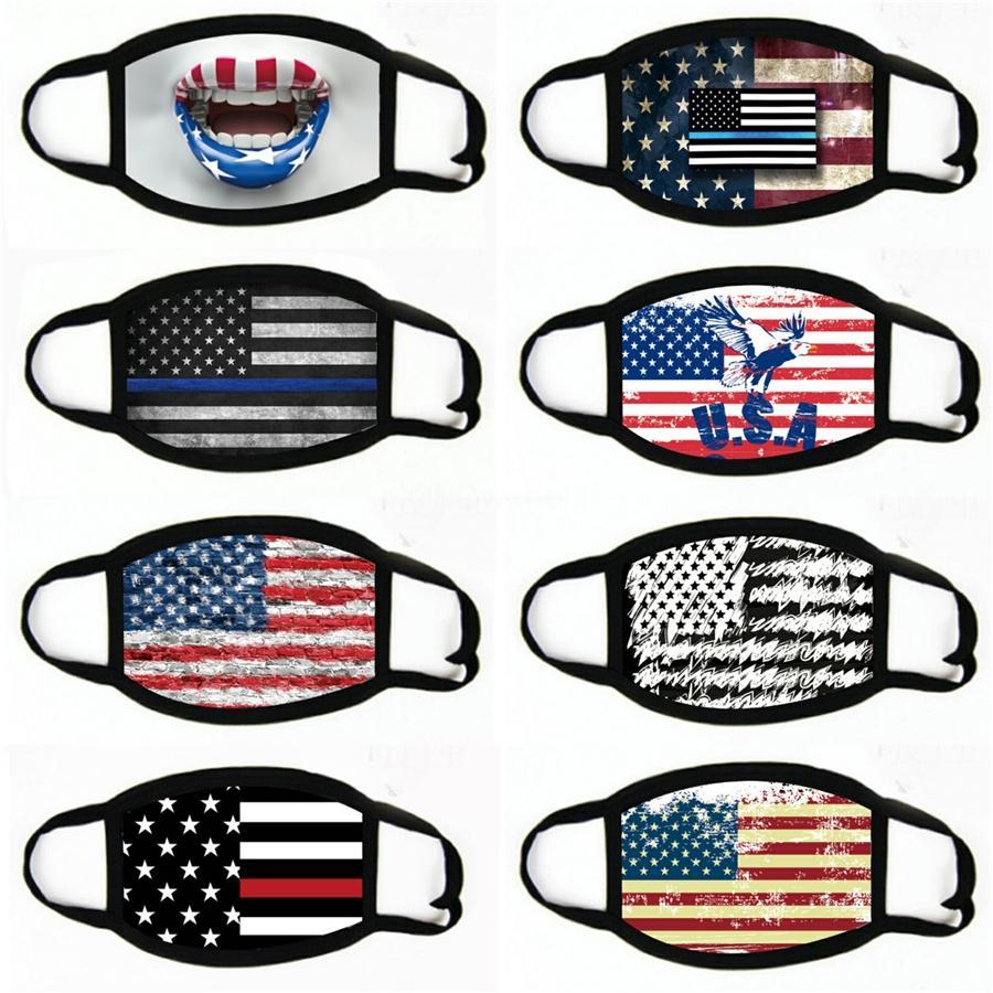 Masques Designer Imprimé Masque Masque PM2,5 Masques d'origine charbon actif anti-poussière Yf # 225