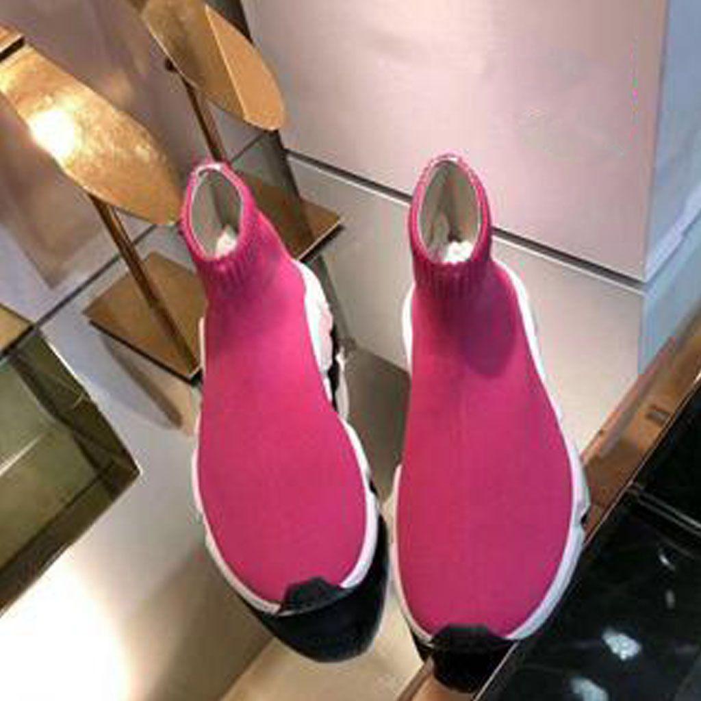 2020 Нового носок обувь New Air Wool Knit скорости Trainer способ сексуальная вязаной эластичный носок сапоги Мужчины Женщина Повседневная Лето кроссовки бег ходьба