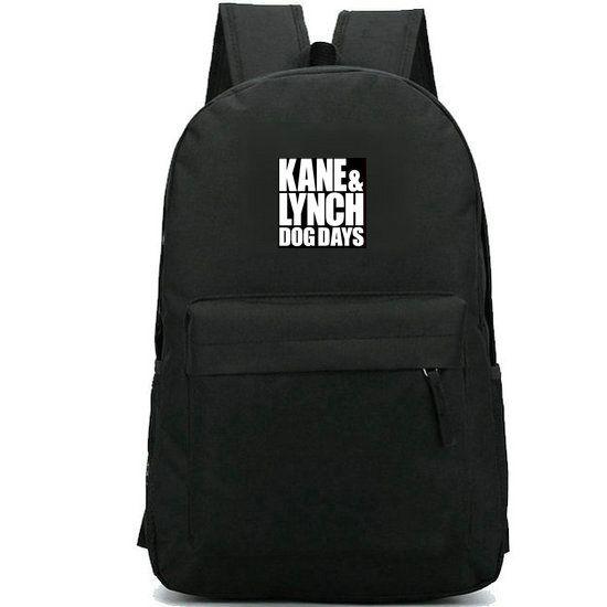 Kane Lynch mochila IO Interactive daypack Sin jogar mochila badge Jogo mochila esporte saco de escola bloco do dia ao ar livre