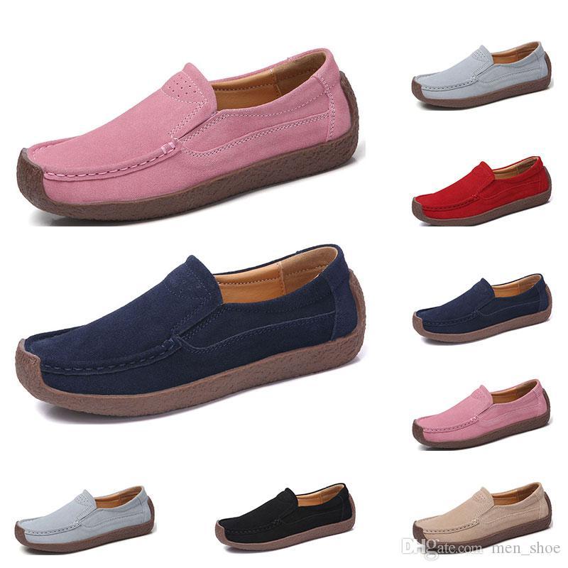 Новая мода 35-42 Eur нового женских кожаных туфель конфеты цвет галоши Британские ботинки освобождают перевозку груз эспадрильи #Thirty четыре
