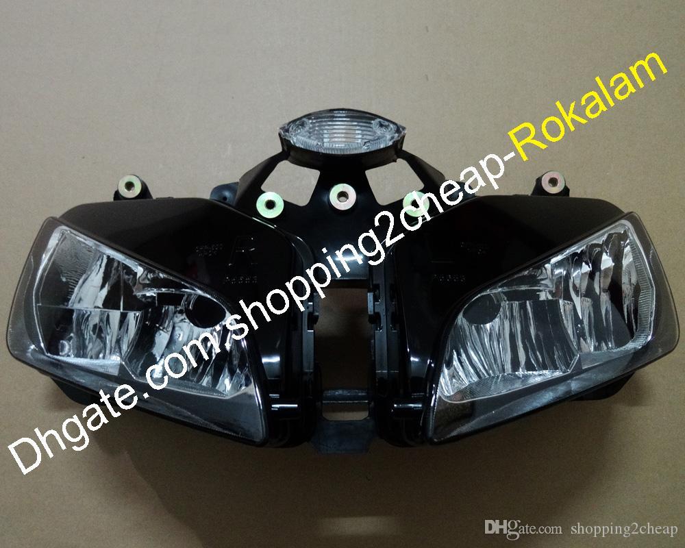 Передняя фара для Honda 03 04 05 06 CBR600RR F5 2003 2004 2005 2006 CBR 600RR Мотоцикл Фара головного освещения лампы