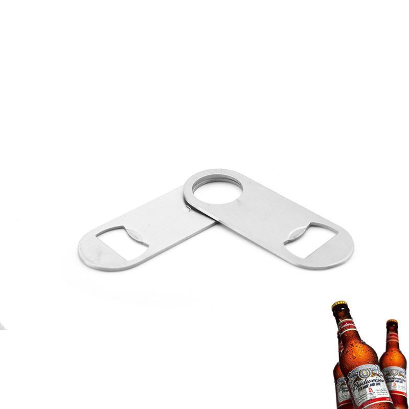 Acero inoxidable abrebotellas Colgando de montaje en pared abridor de botellas de vino Abridores portátiles duradero cerveza Abridores Cocina camarero de la barra de herramientas DBC VT1770
