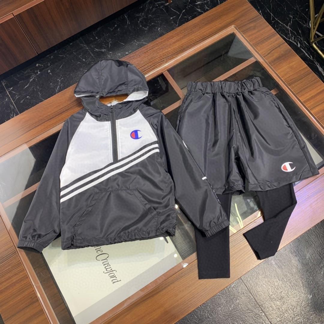 Осень новый шаблон тенденция движения девушки досуг легкий модный костюм мальчики комплект одежды 030914