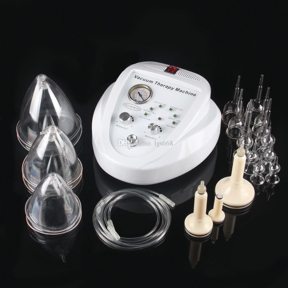 Yeni listeleme Vakum Masaj Terapisi Genişleme Pompa Kaldırma Meme Artırıcı Masaj Büst Kupa Vücut Şekillendirme Güzellik Makinesi VS600