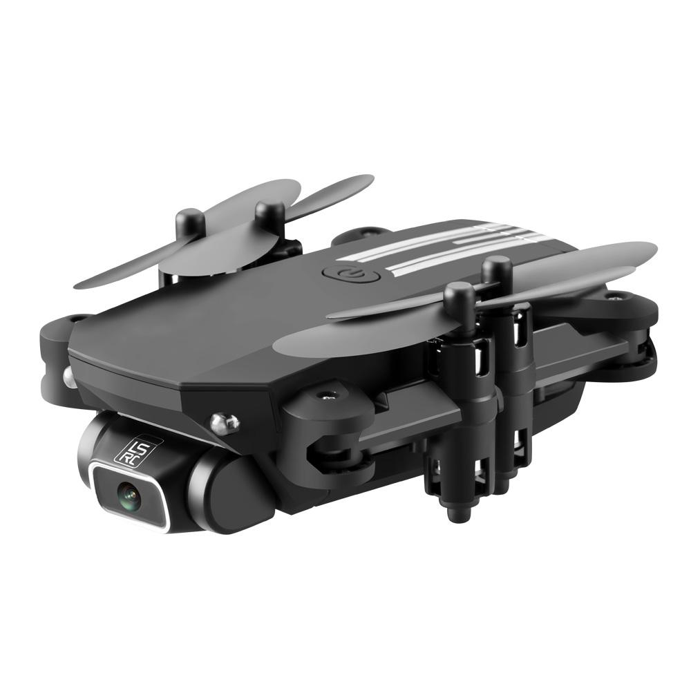 LSRC 4K HD WIFI FPV Foldable Mini Drone Toy, Take Photo by Gesture, Trajectory Flight, Beauty Filter, Altitude Hold, 360° Flip, 3-1