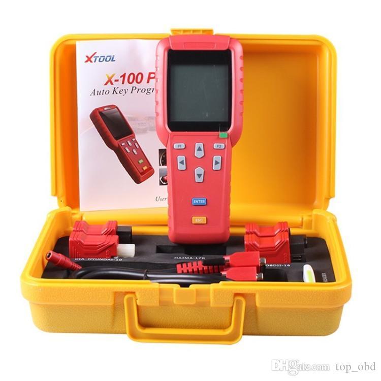 오리지널 XTOOL X100 PRO Xtool X100 PRO 자동 키 프로그래머 X100 + EEPROM 어댑터로 업데이트 된 버전 FAST SHIPPING