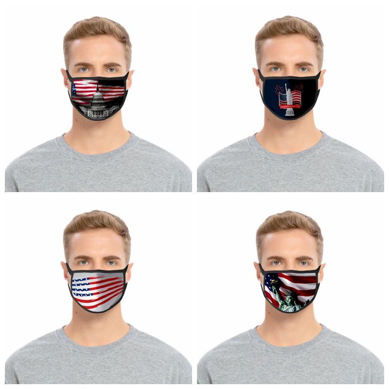 Trump 2020 elezioni americane maschera di protezione antipolvere Hazeproof traspirante mascherina protettiva per adulti e bambini in bicicletta Mask YYA140