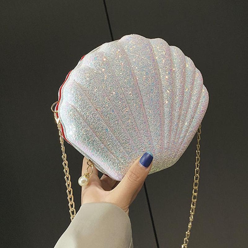 Kişiselleştirilmiş Yabani Nordic Stil Messenger Shell Çanta Lady Küçük Çanta Bayan Omuz Bayanlar Öğrenci Casual Çanta zincirleyin