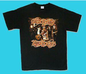 Новый Aerosmith Hot Rocks Tour 2006 черная футболка официальный США Канада размер S 2XL