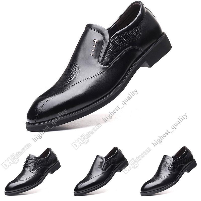 2020 New Hot Moda 37-44 sapatos novos sapatos casuais galochas dos homens de couro homens britânico frete grátis Alpercatas Sete
