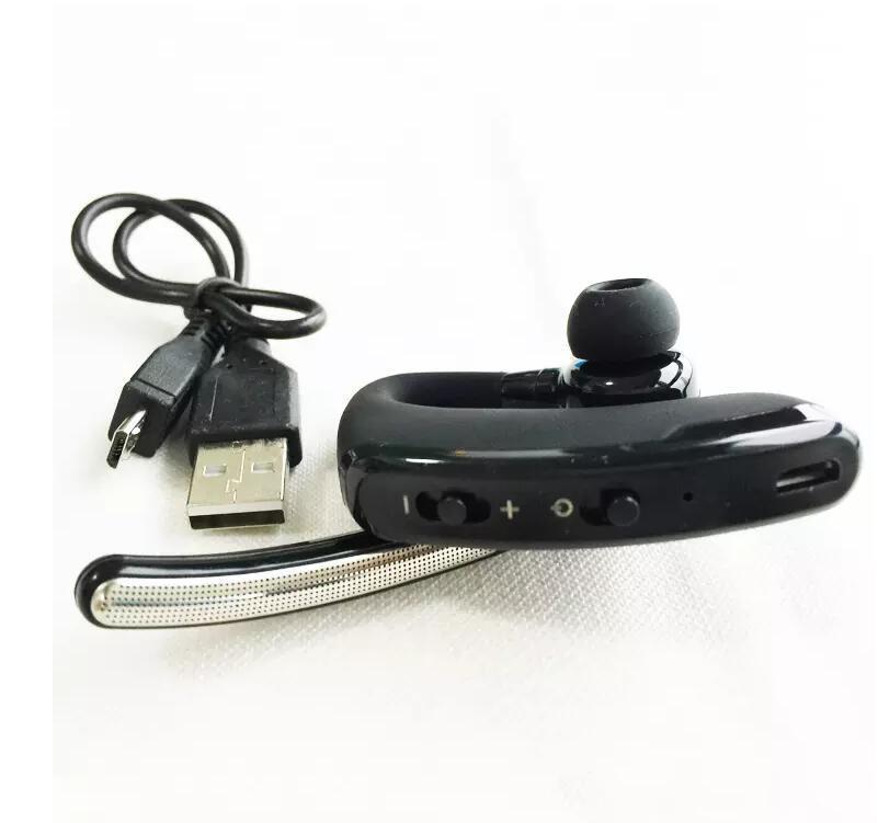 소매와 아이폰 삼성 BLACK에 대한 귀 후크 비즈니스 블루투스 헤드폰 무선 헤드셋 블루투스 4.0 블루투스 스테레오 헤드셋