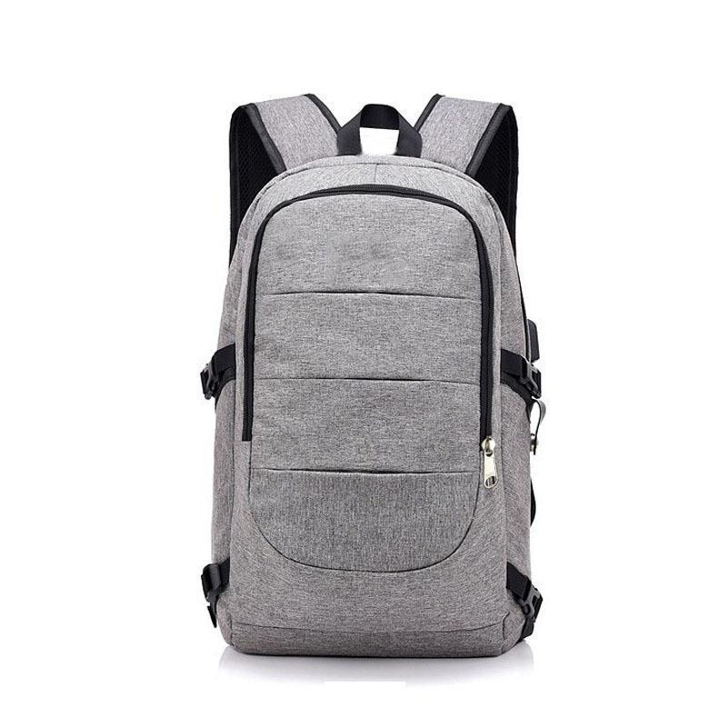 Waterproof USB negócio de carga de grande capacidade coreana Edição Masculino e Feminino Backpack Computer Backpack