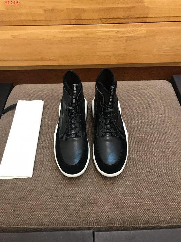 ankle boots homens para o outono e inverno, moda contratado é de alta topo as ankle boots de couro esportivos que ajuda a financiar