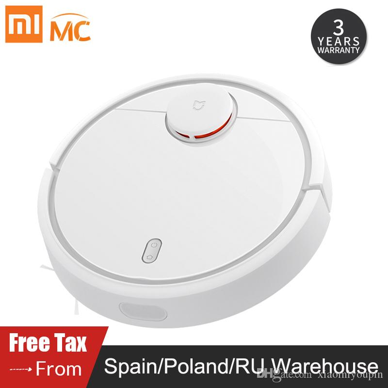 Original XIAOMI Robot Vacuum Cleaner for Home Automatic Sweeping Charge Smart Planned Wifi Mijia APP Remote Control Dust Cleaner