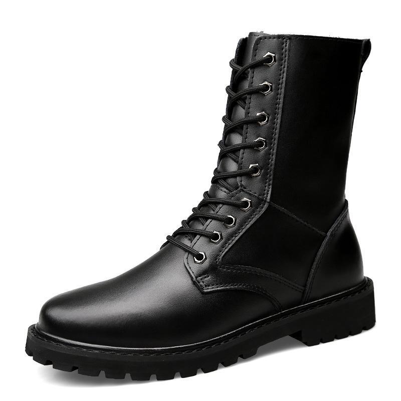 أحذية التكتيكية العسكرية أحذية الرجال سلامة العمل الجيش الأسود مكافحة أحذية الرجال أحذية الصحراء للذكر