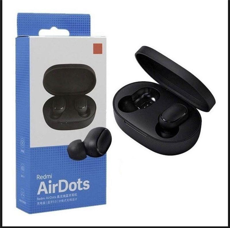 Para Xiaomi airdots redmi Airdots TWS sem fio do fone de ouvido Controle de voz Bluetooth redução de 5,0 Ruído Tap Control