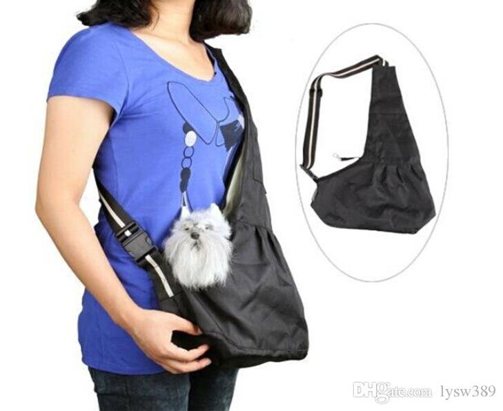 Single-Schultern Stoff Haustier Tasche Tasche Outdoor Supplies Taschen träger Haustiere Katze Oxford Hund Messenger BRUST HA168 Tragbare atmungsaktive PTMGC