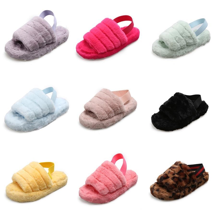 Pantofole bambini 2020 di estate nuovi ragazzi e ragazze antisdrucciolevoli Scarpe spiaggia bambino pattini del bambino di colore di bambini di corrispondenza # 528