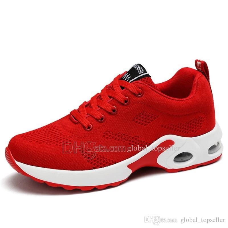 Nuovo arrivo con il contenitore di moda Uomo Scarpe da ginnastica in mesh traspirante Walking Calzatura uomo nuovo e confortevole leggero scarpe da corsa Ac-200301078