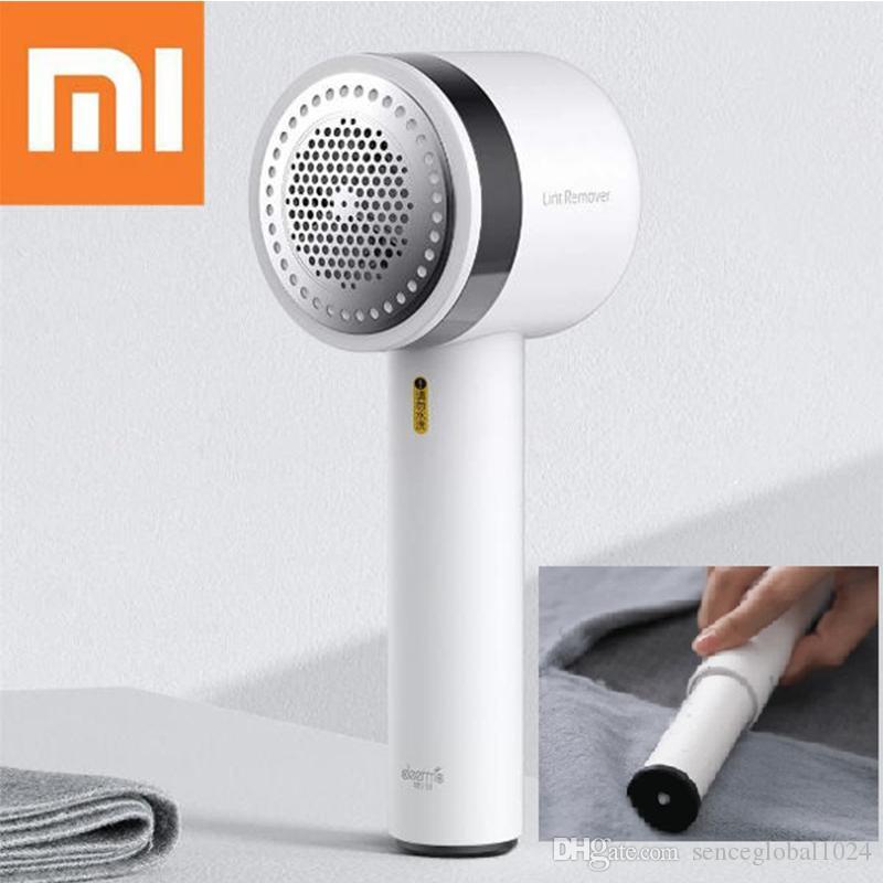 Xiaomi Deerma Trimmer portatile Lint rimozione dei capelli maglione palla di rimozione 7000R / min Tubo motore Trimmer nascosto appiccicoso dei capelli