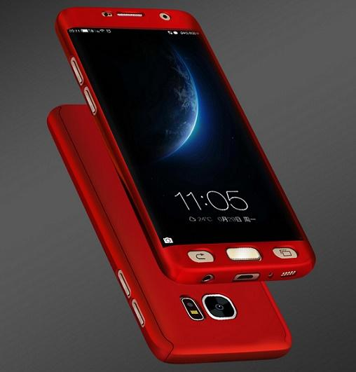 Samsung S10 S9 S8 plus funda para teléfono móvil Note10 note9 creative 360 funda con todo incluido A60 PC mate duro M30