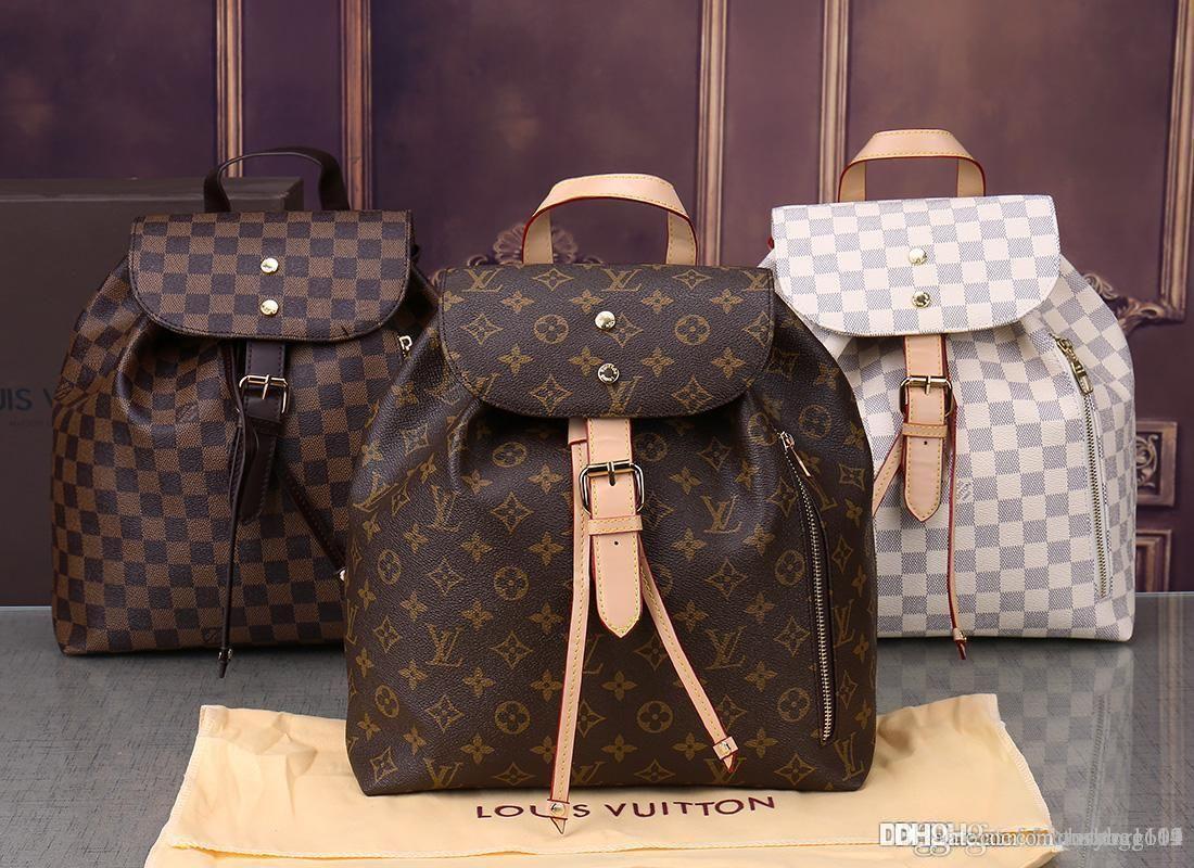 New styles Handbag Fashion Leather Handbags Women Tote Shoulder Bags Lady Leather Handbags Bags purse backpack Wallet 43438