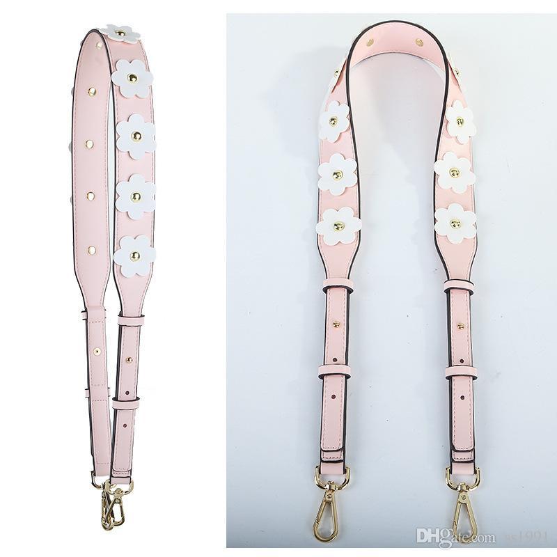 sacchetto del fiore tracolla borsa accessori decorazione della cinghia a tracolla nuova cinghia di spalla larga regolabile