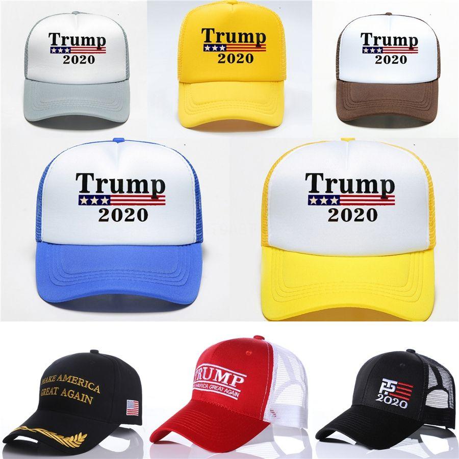 Yeni Net Cap Beyzbol Şapka Amerika Büyük Yine Amerikan Trump Baskı Seçim Cap Mesh Şapka Whoelsale # 534 Make