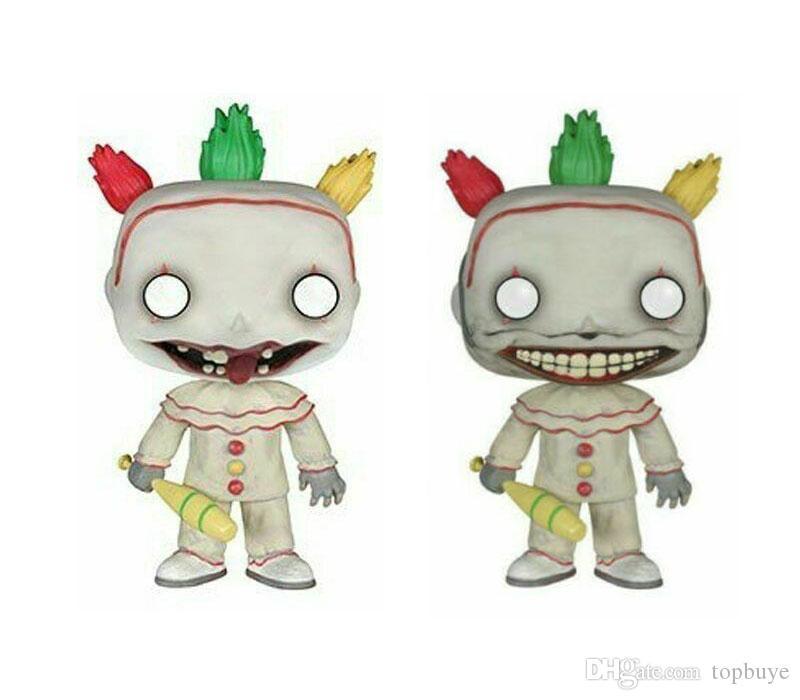 Funko Pop americano Horror Story: Freak Show Twisty # 243 Vinile Action Figure con la scatola popolare giocattolo di buona qualità