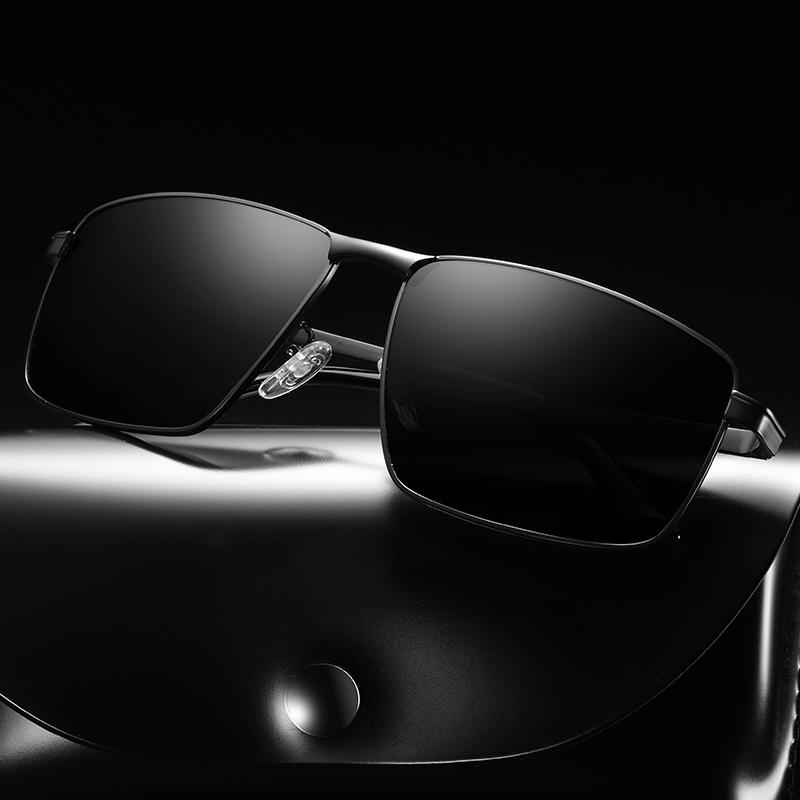 Новые мужские поляризованный вождения солнцезащитные очки могут быть настроены логотип
