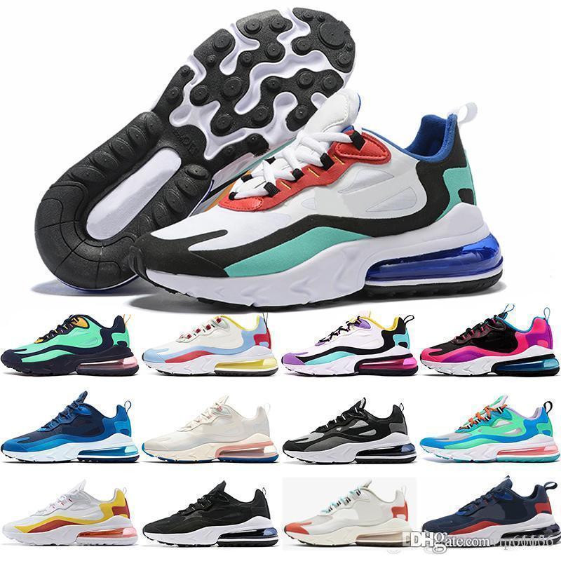 O envio gratuito de reagir 27c sapatos ao ar livre dos homens Trainers BAUHAUS HYPER JADE Cinza Laranja mulheres OPTICAL Disigner sneakers instrutor respirável