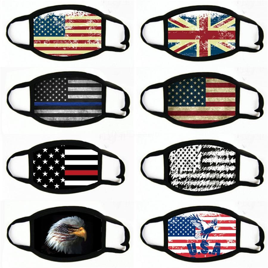 Designer Imprimé Masques Visage Mascherine Masque réutilisable Coton Enfants Maske adultes PM2,5 filtre à charbon actif Bouclier Lavable Parti drôle Fedex # 4